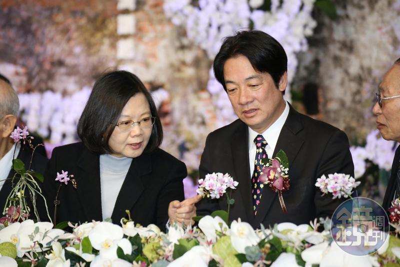 賴清德競選團隊今晚表示,賴前院長祝福總統出國為台灣拚外交一切平安順利。(本刊資料照)