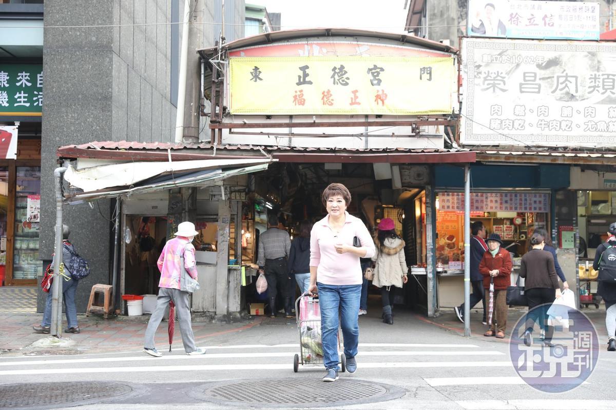 「東門市場」是程安琪最常採買食材的市場。