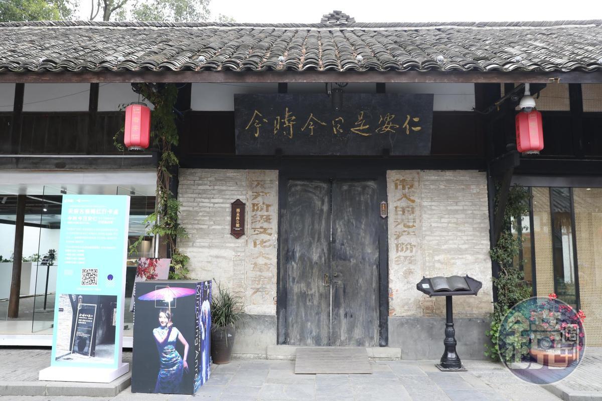 楊孟高公館的門面窄小,入內卻別有洞天。