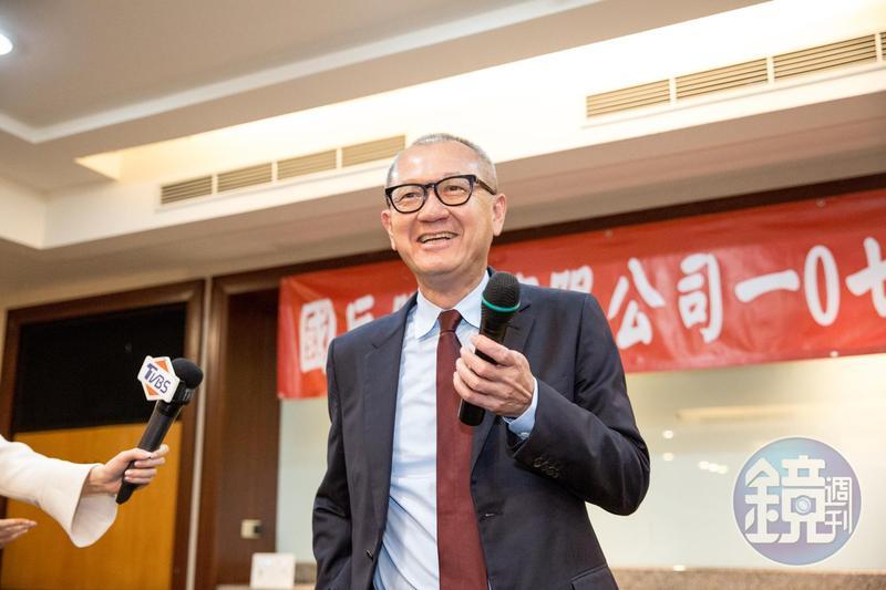 國巨是國內被動元件龍頭,陳泰銘打算透過併購,擴大非被動元件事業版圖。