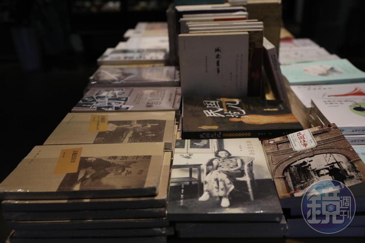 安仁書院蒐羅許多民國主題書籍。
