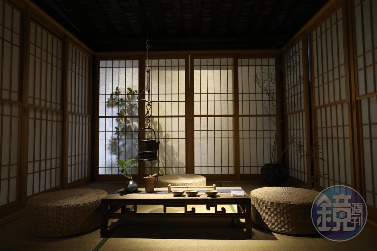 著名設計師趙潛石將安仁書院2樓規劃為飲茶與閱讀空間。