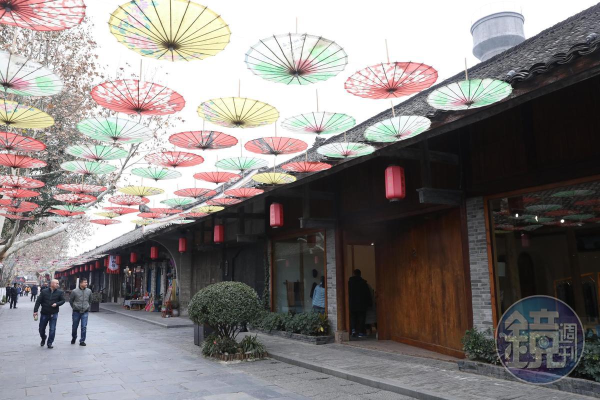 「蕊工坊」走出貴州的第一家店就開在安仁,已經經營好幾年。