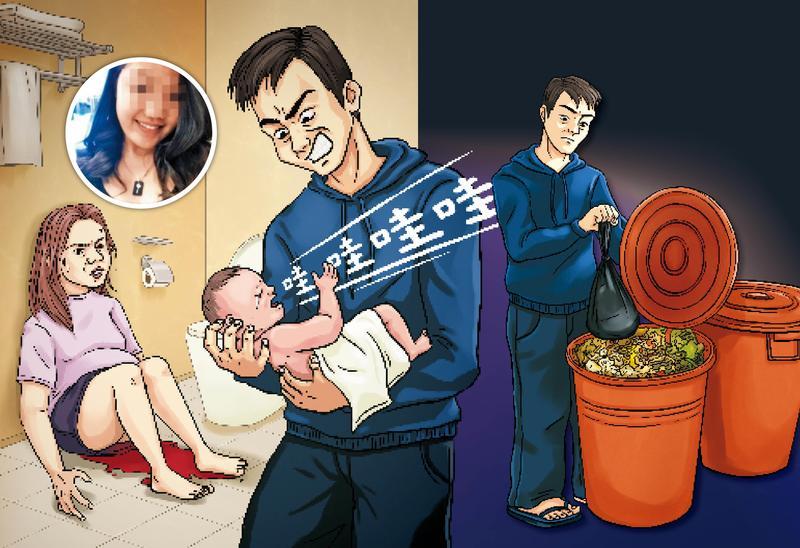 新加坡情侶假藉來台觀光,實則生子、棄嬰。