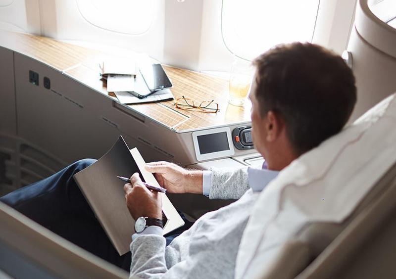 國泰航連兩年虧損,終於在去年轉虧為盈,獲利23.5億港幣(約新台幣94億)。(翻攝自國泰航空官網)