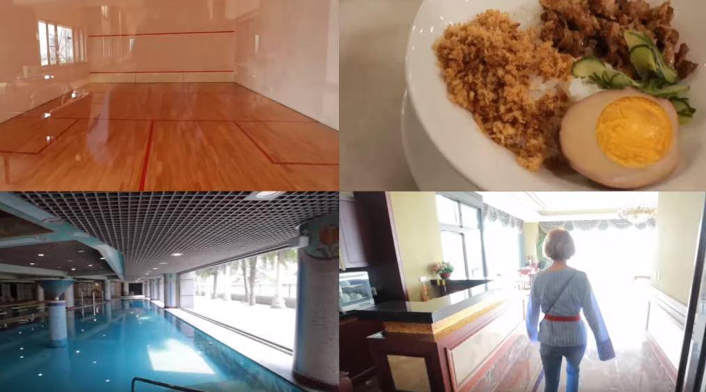 豪宅內有多項娛樂休閒設施。(翻攝自youtube)