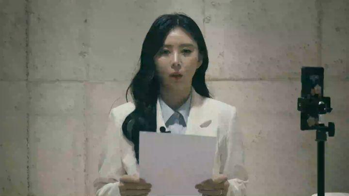 韓女星尹智吾在IG發表「不自殺聲明」,表示一定會繼續努力為張紫妍自殺案件努力調查真相。(翻攝自尹智吾IG)