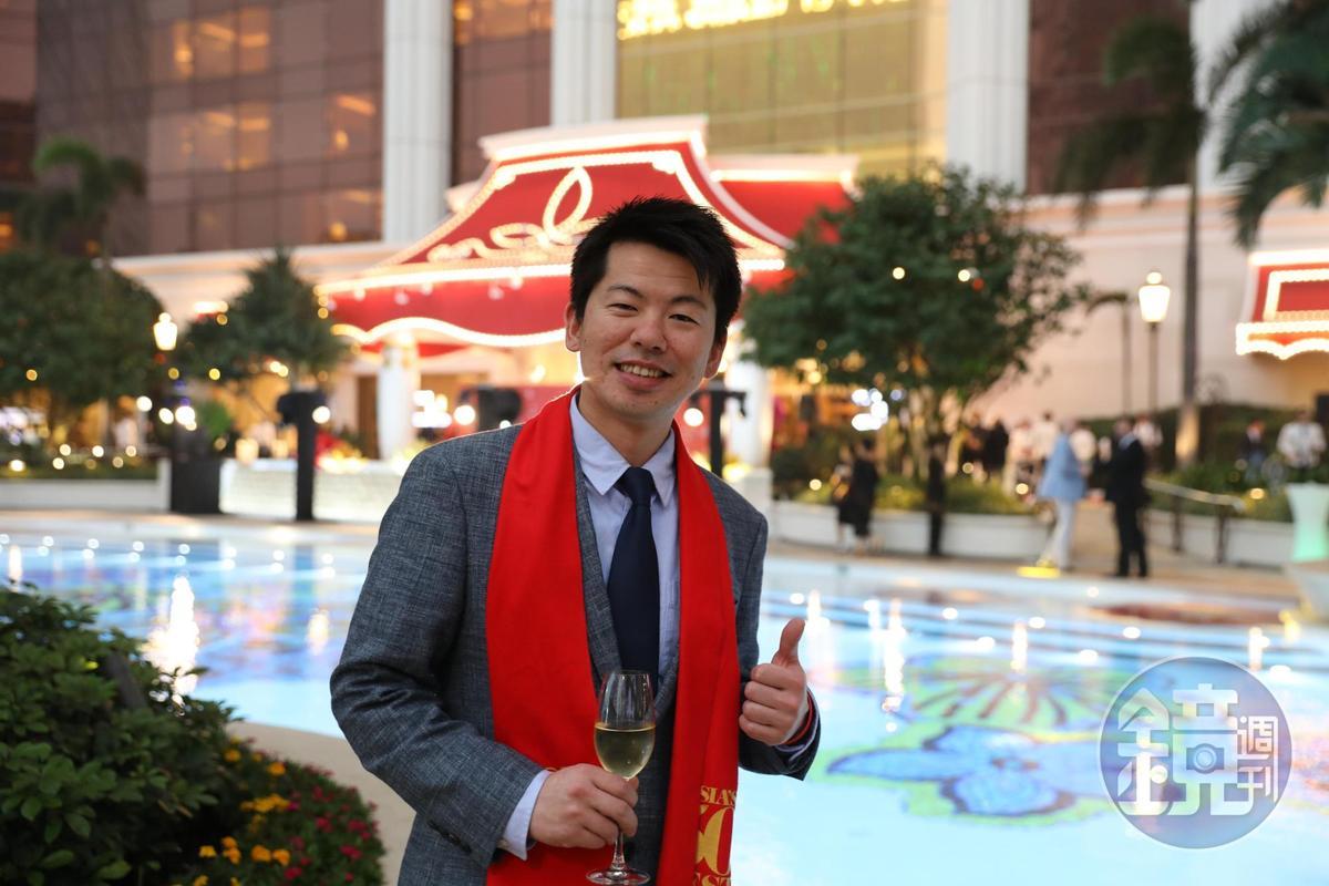 第二年入榜的「祥雲龍吟」主廚稗田良平以百分之百的在地台灣食材來創作日本料理。