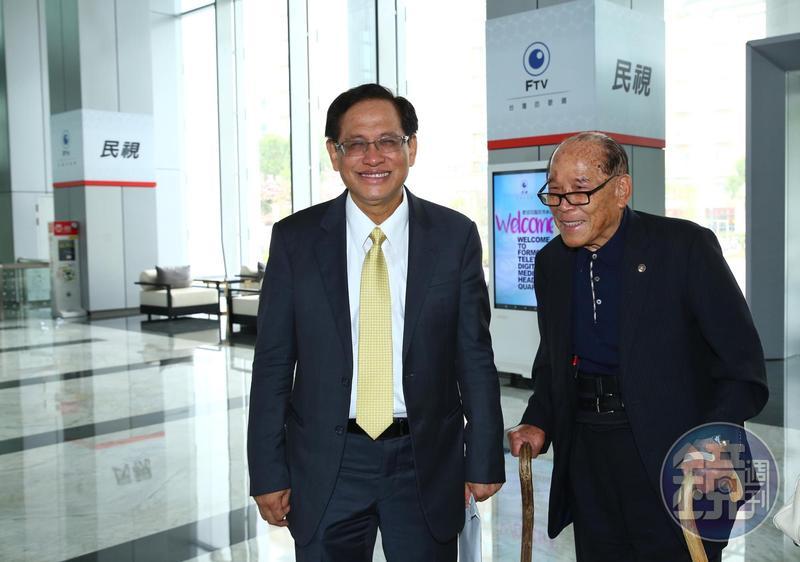 郭倍宏找來民視前董事長田再庭及律師,主張民投14日董事會決議無效。