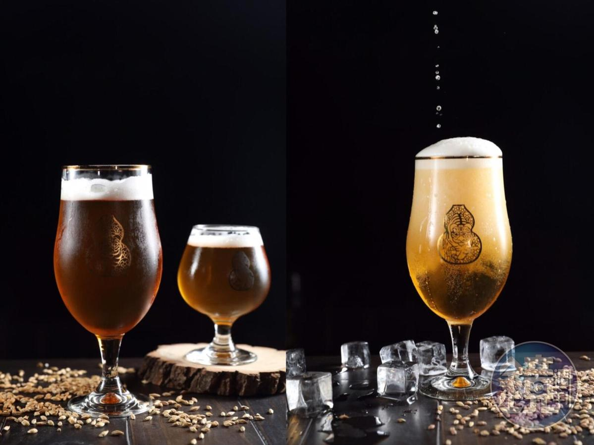 加入紫蘇的酸啤酒「相思相愛」,酒韻多層次。(台日合作酒款,即日起於日本精釀啤酒吧Watering Hole開賣,詳情洽臺虎粉絲專頁)