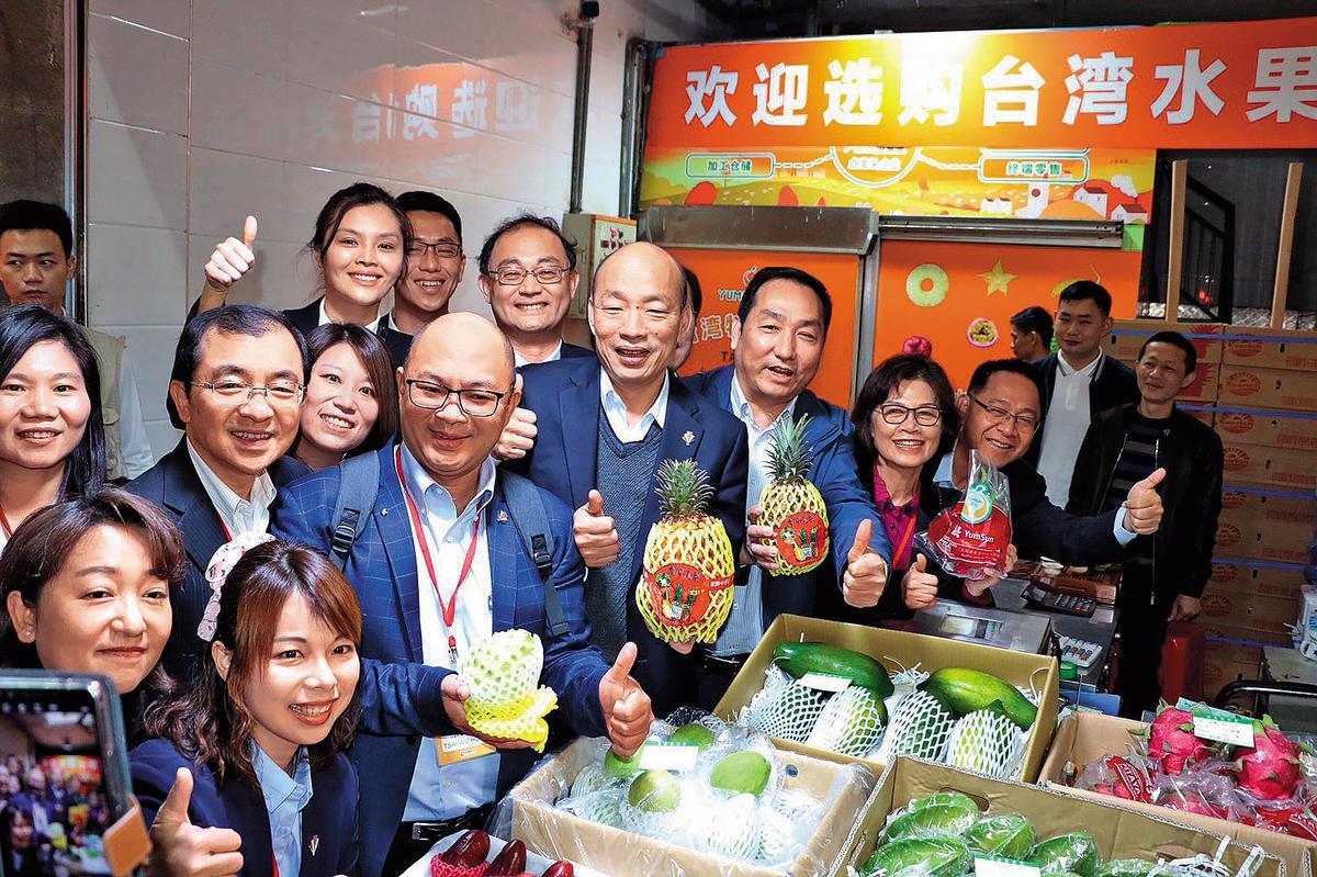 韓國瑜出訪港、澳、深圳和廈門,遭陸委會主委陳明通批是一國兩制台灣方案之旅。(高雄市政府提供)