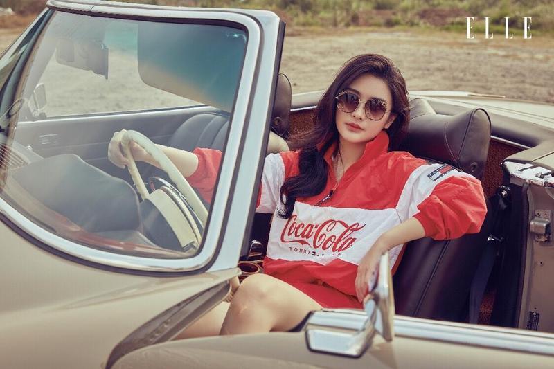 陳昭榮女兒陳品兒登上時尚雜誌,分享自己的穿著品味。(ELLE雜誌提供)