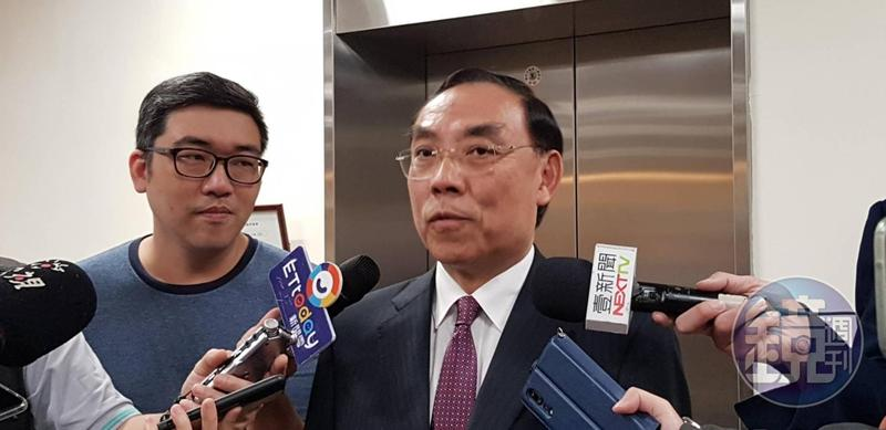 法務部長蔡清祥對彭坤業質疑調查不公的說法表示尊重。