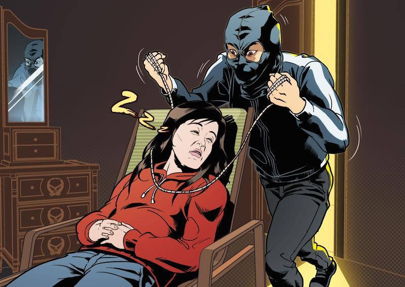 黃麟凱拿著預藏的鑰匙潛入王姓前女友家中,以童軍繩勒斃正在午睡的王母。