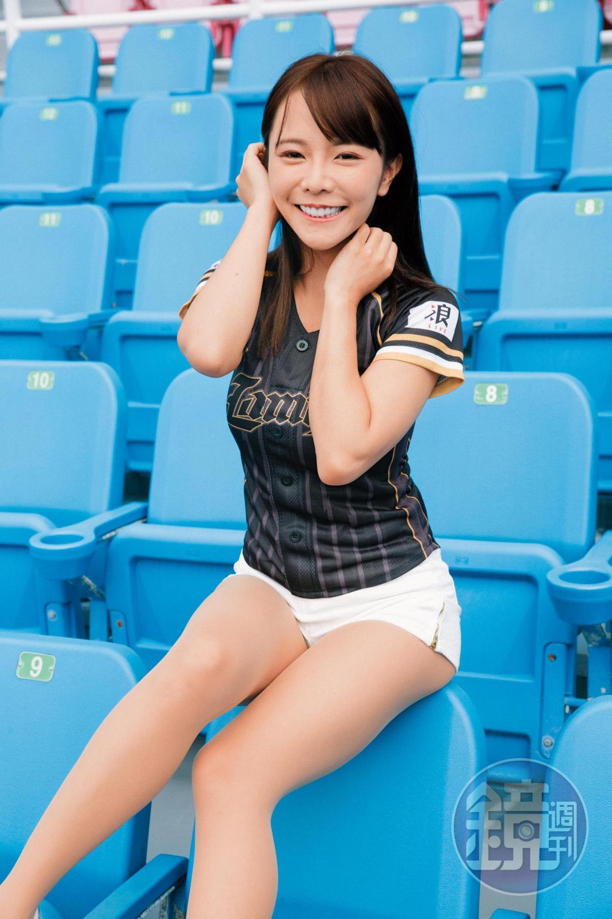巫苡瑄是LamiGirls隊長,還曾拍攝過甜美寫真。