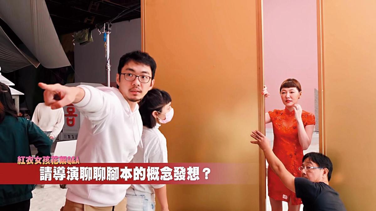 小S跨刀蔡依林的〈紅衣女孩〉MV演出,飾演蔡依林的閨密,兩人因一個男人而感情生變。(翻攝自蔡依林官方YT)