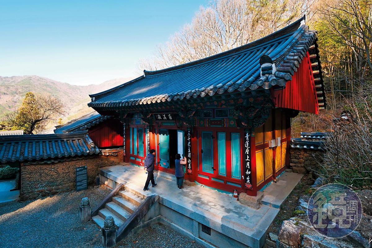 雙蹊寺內的殿堂樓閣眾多,有近40座大小不同的建築。
