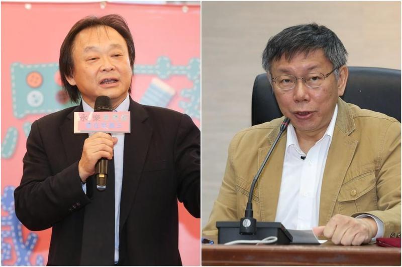 台北市議員王世堅認為柯文哲開微博,目的不是為了行銷台北,而是向中國行銷自己。