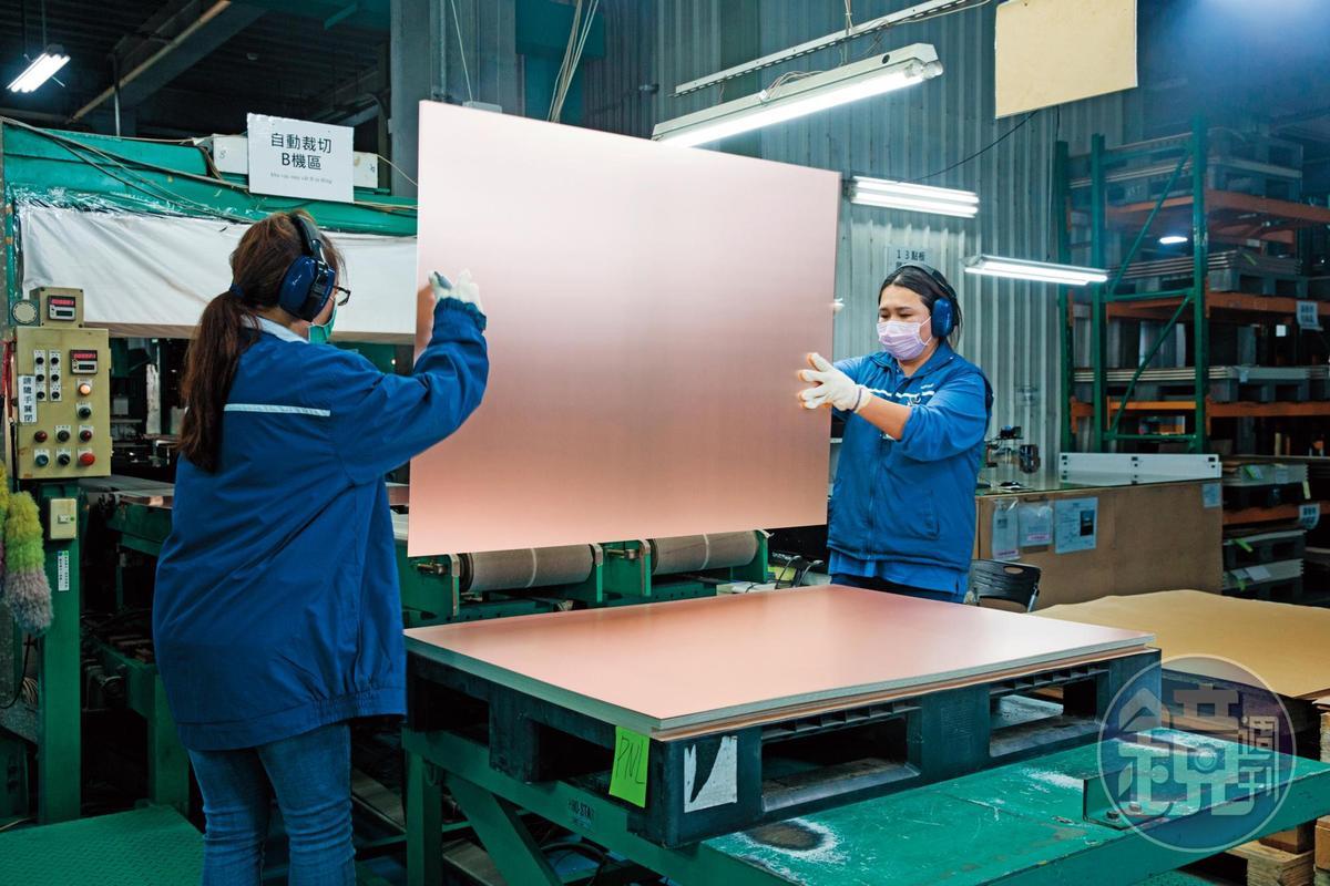 消費性電子產品的銅箔基板市場已進入高原期,騰輝電子轉型切入高階應用領域,創造更高毛利率。
