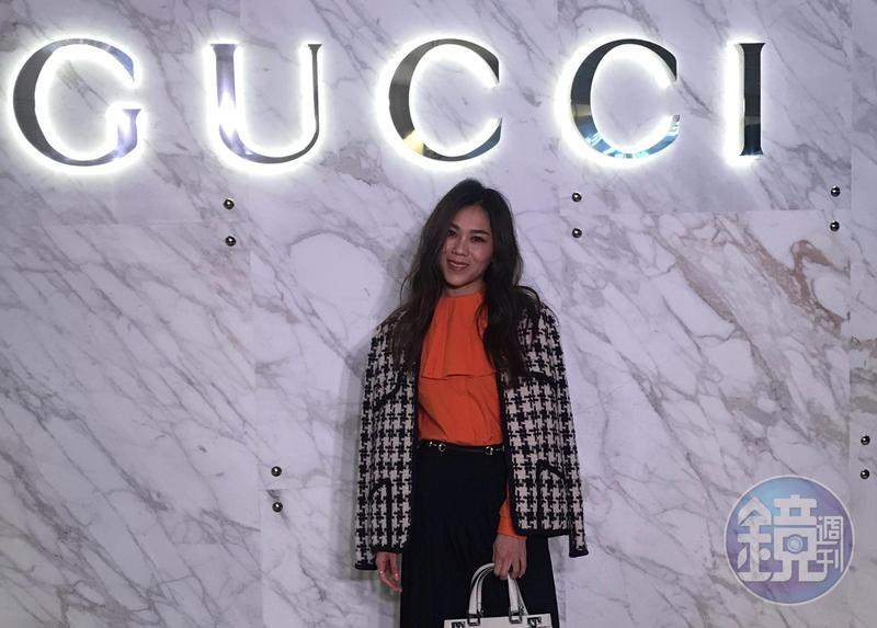 蔡健雅受邀出席Gucci Zumi新包款系列發表會。