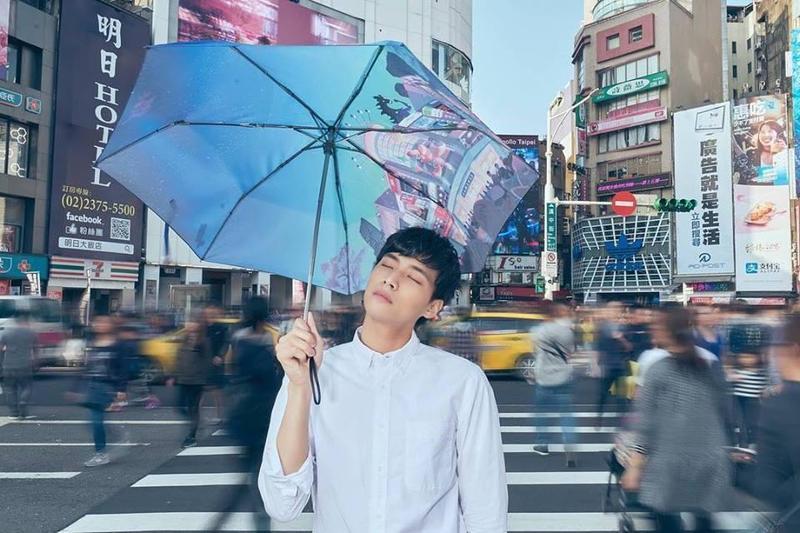 奇幻影展去年限量推出的雨傘,3天就賣完。(金馬執委會提供)