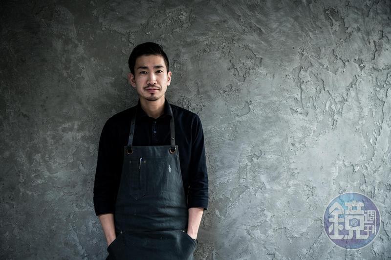 logy主廚田原諒悟曾赴義大利修業,是史上最快摘星的主廚。