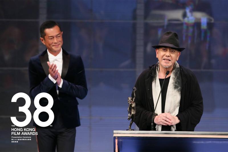 黃秋生(右)以《淪落人》3度贏得香港電影金像獎影帝。(翻攝自香港電影金像獎臉書)