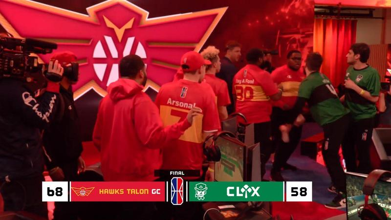 NBA2K聯盟日前爆發肢體衝突,當下畫面透過直播被全球觀眾直擊。(翻攝自NBA2KLeague Twitch)