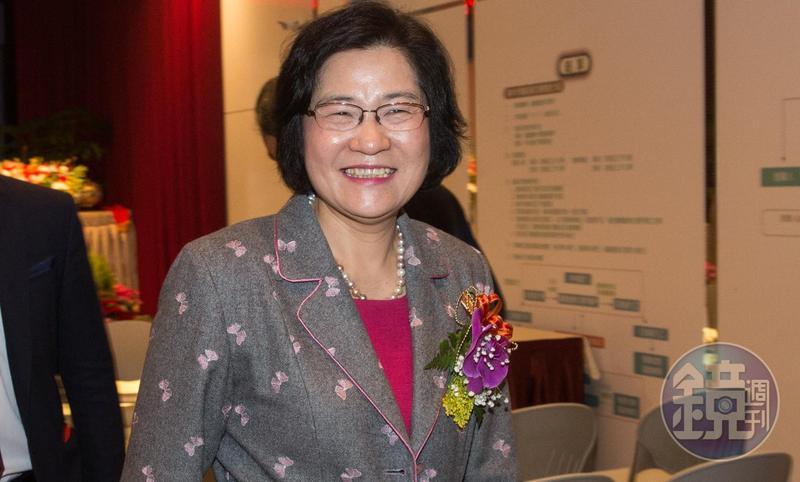 誠美材副董事長葉美麗今年1月引爆經營權風波。