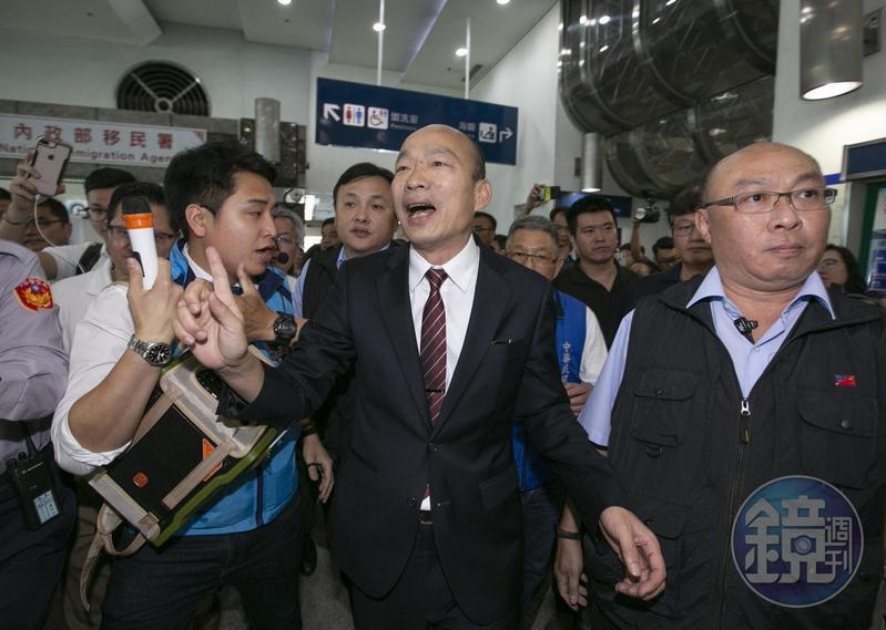 韓國瑜訪美批台灣過去因為3任法律系總統,經濟被搞成殘廢。