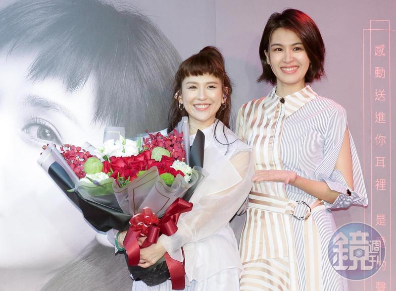 魏如昀推出新單曲〈深愛著〉,好友曾沛慈特來站台。