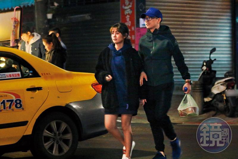 鮪魚曾被本刊直擊與袁艾菲前男友林冠百牽手約會。
