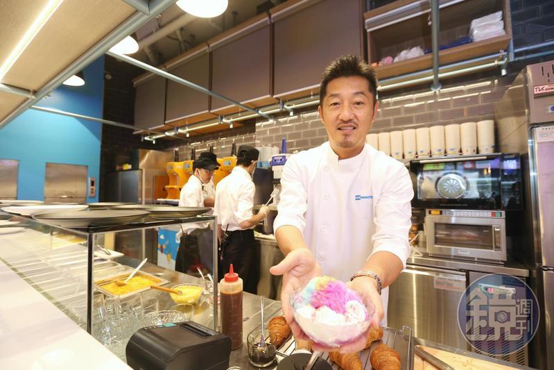 ICE MONSTER負責人羅駿樺睽違7年,如今帶領團隊重返永康商圈。