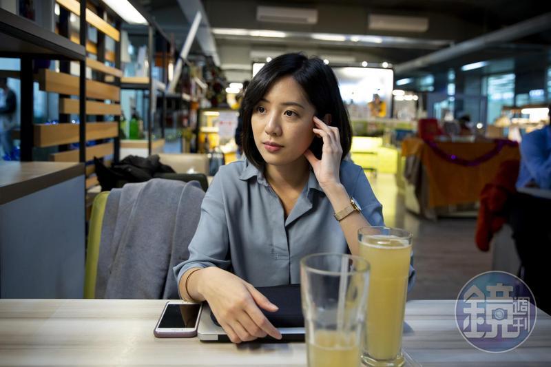 「學姐」黃瀞瑩現任台北市副發言人,自〈一日幕僚〉影片爆紅以來人氣不墜。