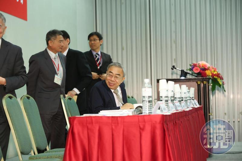 王文淵對於郭台銘想選總統,表示恭喜他。