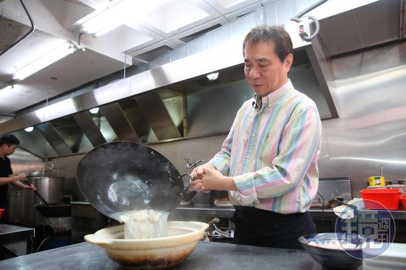 張永華開過18家餐廳,對料理美食十分執著。16年前的川巴子竟是在SARS期間開店。