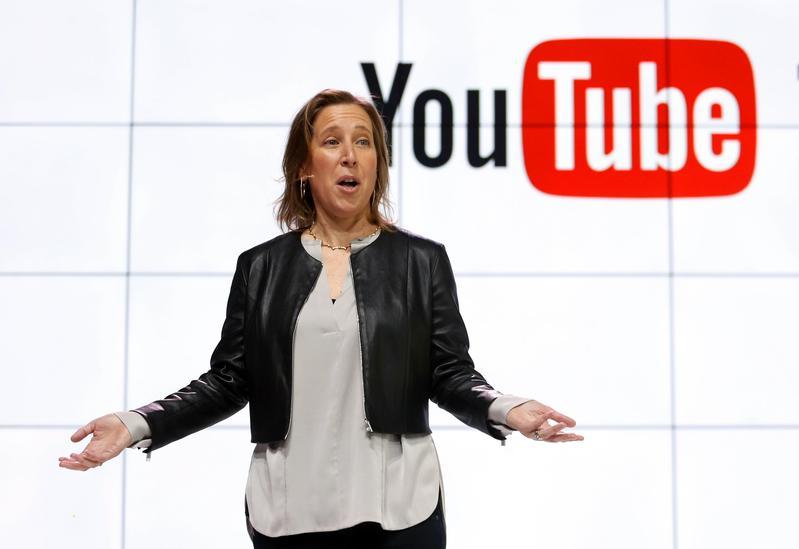 YouTubeCEO蘇珊沃西基表示,和WHO意見相牴觸的內容違反了他們的使用政策。(東方IC)