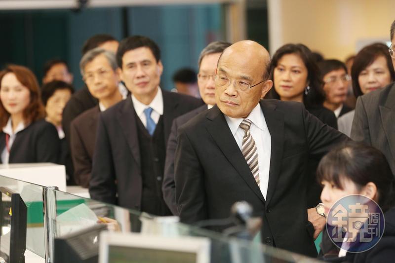 有意爭取立委初選的民進黨新北市議員何博文確定退選,根據本刊調查行政院長蘇貞昌在這次協調中扮演重要角色。