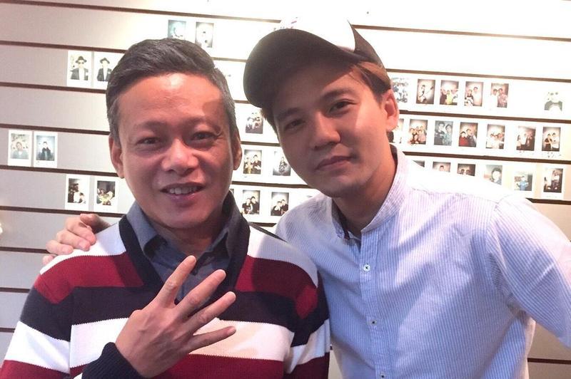 李康生點頭擔綱張三李四的〈那個男孩〉MV男主角,由張三親自操刀執導。(獨一無二娛樂提供)
