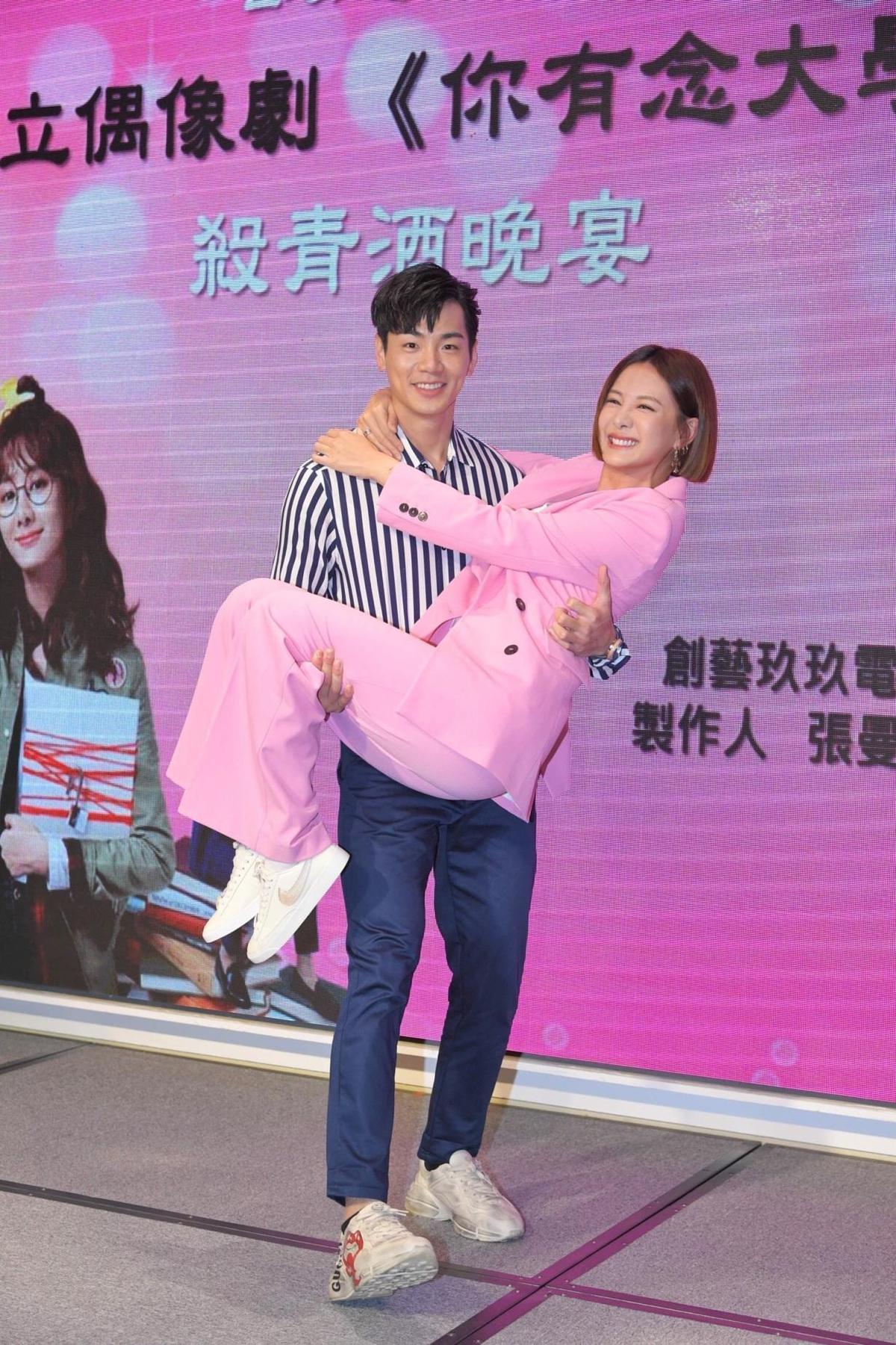 安心亞與禾浩辰因拍戲培養出很不錯的交情。(三立提供)