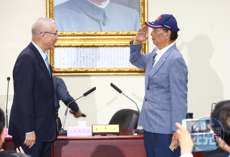 鴻海董事長郭台銘今日在國民黨中央黨部宣布參戰2020總統大選。