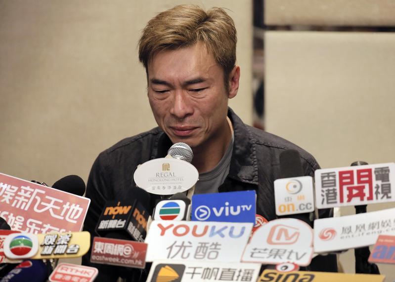 許志安與黃心穎偷情影片後半段流出,打臉他是喝醉才做出傻事的說法。(東方IC)