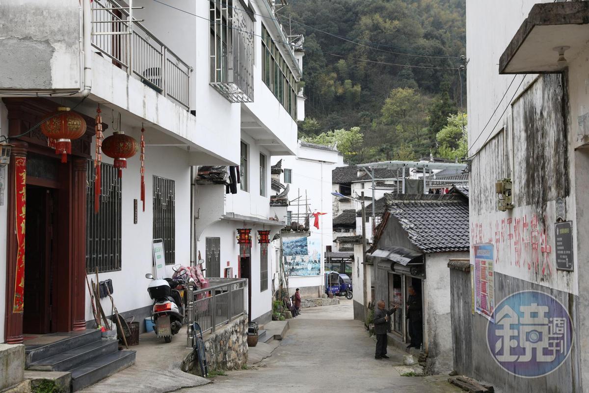 許多人家已經改成民宿,提供來作畫或攝影愛好者的住宿。