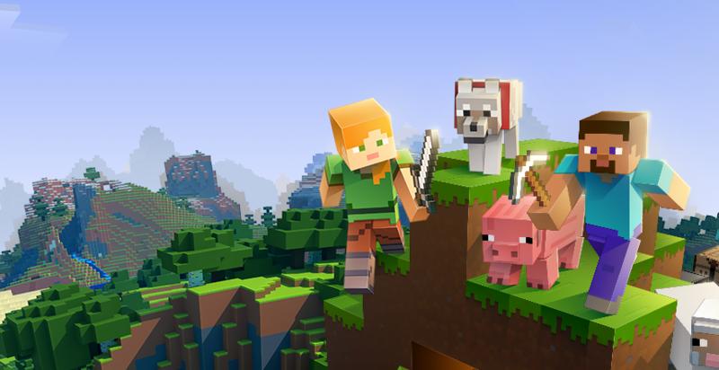 IGN日前公布史上十款最賣座的電子遊戲,沙盒遊戲《當個創世神》(Minecraft)排名第二。(翻攝自minecraft官網)