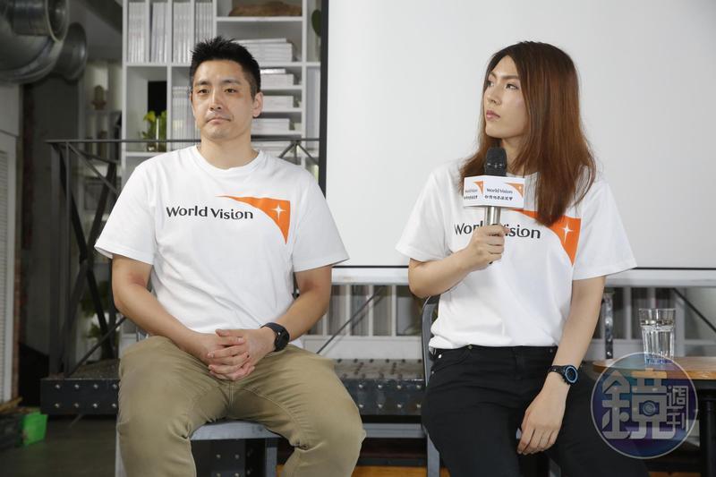 理科太太(右)昨發文談到夫妻倆在國外遇到歧視的經驗。