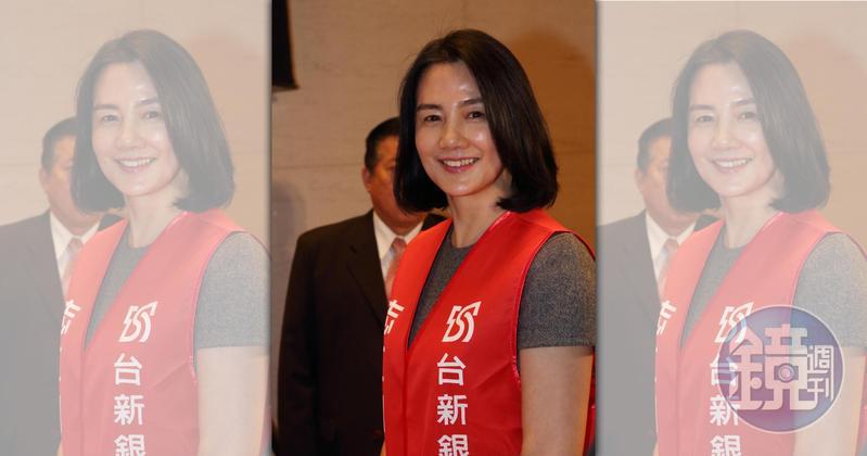 彭雪芬過去僅在台新擔任文化藝術基金會董事,直到2016年才擔任新光金董事。