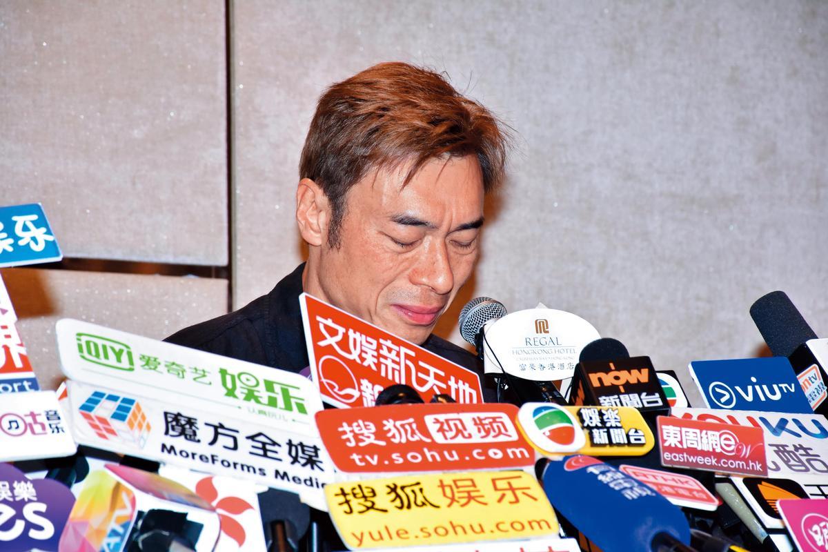 外遇一事被爆之後,許志安宣布停工之外,還屢發金句自轟,成為經典。(東方IC)