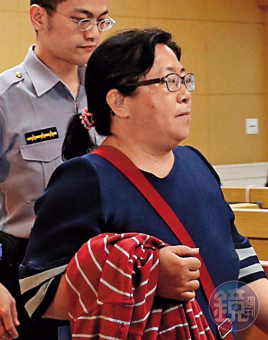 蘇震清的屏東服務處女助理賴麗團(圖),充當蘇震清買賣股票的人頭,對於金流細節表示不知情。