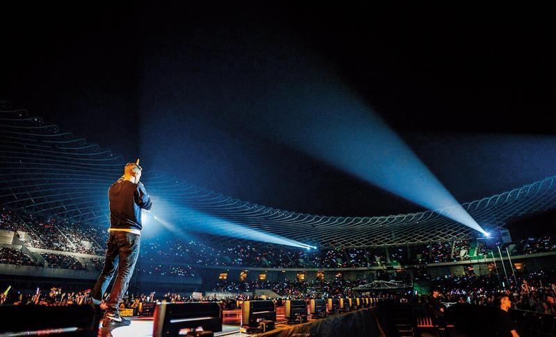葉美麗砸下5,000萬元,打算邀請紅遍天的美國搖滾天團「魔力紅」來台開演唱會遭攔胡,檢調追查是否藏弊。(環球提供)