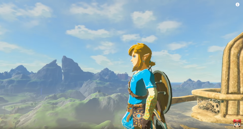 Switch神作《薩爾達傳說 曠野之息》擠進銷量排行前五名。(圖:翻攝自Nintendo YouTube頻道)